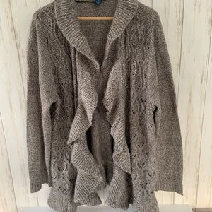 KAREN SCOTT Cardigan Sweater Size 3X